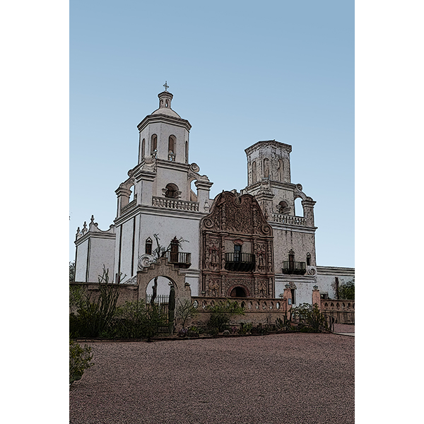 GATES OF SAN XAVIER MISSION